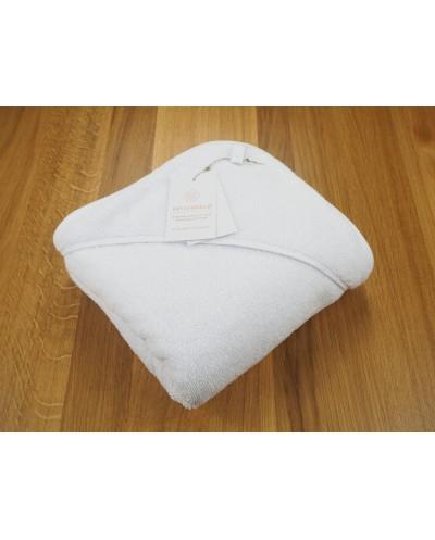 ręcznik biały frota niemowlęcy