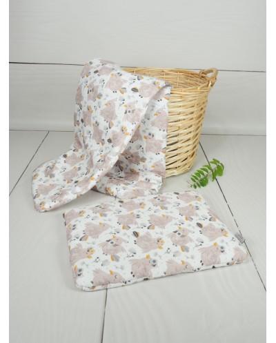 kołdra bawełniana niemowlęca 75x100