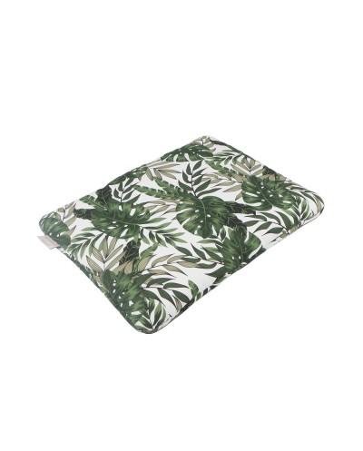 poduszka bawełniana liście