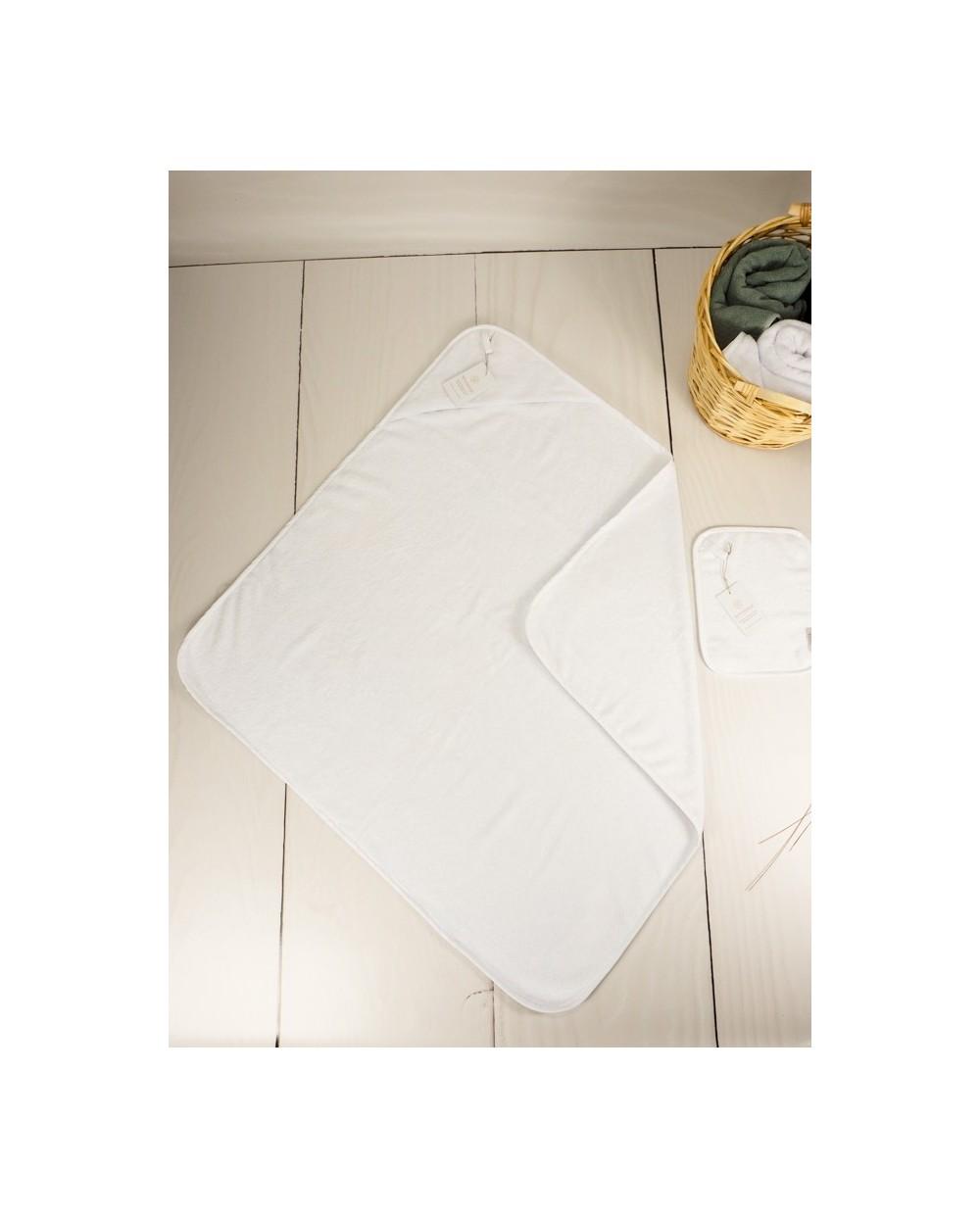 ręcznik niemowlęcy  biały